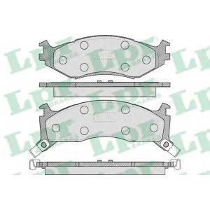 LPR 05P455 Комплект тормозных колодок, дисковый тормоз Крайслер Le