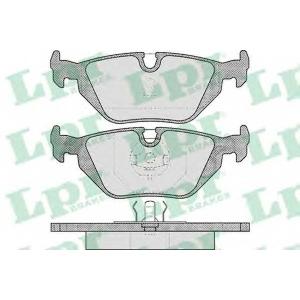 LPR 05P463 Тормозные колодки дисковые
