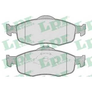 LPR 05P471 SF2700 Тормозные колодки