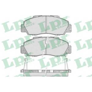 LPR 05P472 Тормозные колодки дисковые