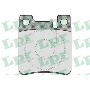 LPR 05P477 Тормозные колодки дисковые