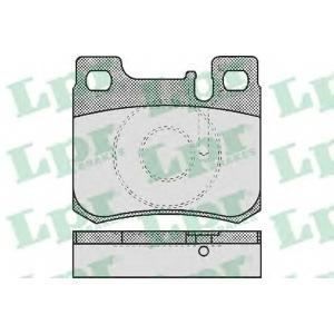 LPR 05P485 Тормозные колодки дисковые