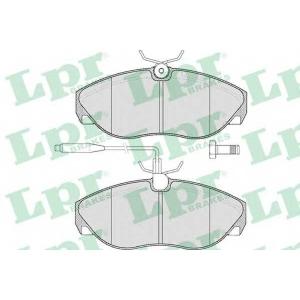 LPR 05P493 Тормозные колодки дисковые