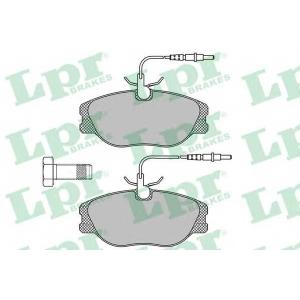 LPR 05P498 SF2822 Тормозные колодки