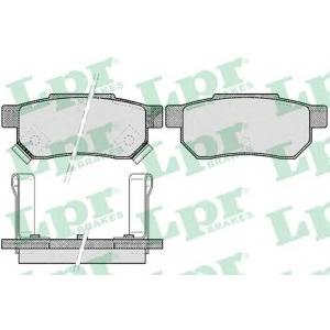 LPR 05P506 Комплект тормозных колодок, дисковый тормоз Акура