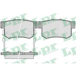 LPR 05P508 SF2804 Тормозные колодки