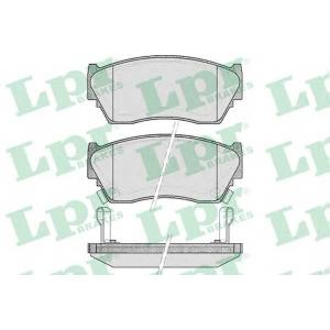 LPR 05P520 SF2677 Тормозные колодки