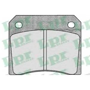 LPR 05P530 Комплект тормозных колодок, дисковый тормоз Ягуар