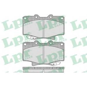 LPR 05P537 SF2796 Тормозные колодки
