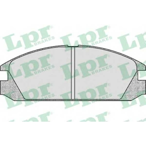 LPR 05P552 Комплект тормозных колодок, дисковый тормоз