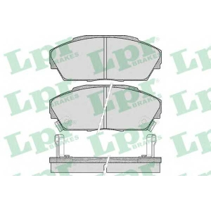 LPR 05P555 Комплект тормозных колодок, дисковый тормоз Акура