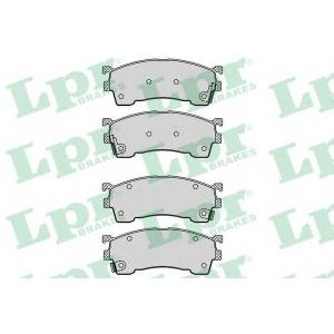 LPR 05P559 Тормозные колодки
