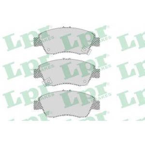 LPR 05P564 Тормозные колодки дисковые