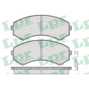 Комплект тормозных колодок, дисковый тормоз 05p569 lpr - MITSUBISHI PAJERO IV (V80, V90) вездеход закрытый 3.2 DI-D 4x4