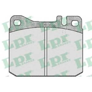 LPR 05P572 Тормозные колодки