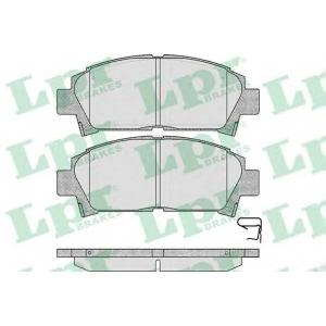 LPR 05P573 Тормозные колодки дисковые