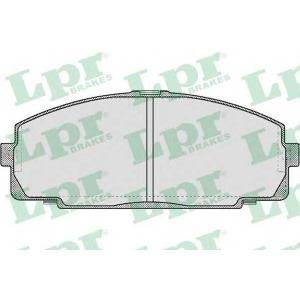 05p577 lpr Комплект тормозных колодок, дисковый тормоз TOYOTA HIACE автобус 2.0 (H5G)