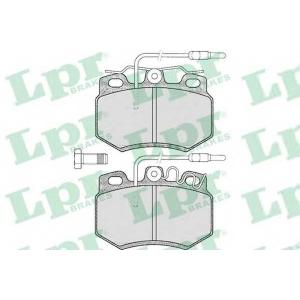 LPR 05P585 Комплект тормозных колодок, дисковый тормоз