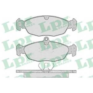 Комплект тормозных колодок, дисковый тормоз 05p599 lpr - OPEL VECTRA A (86_, 87_) седан 1.8 S