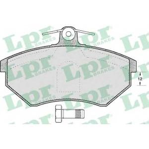 LPR 05P600 SF2307 Тормозные колодки