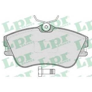 LPR 05P605 SF2739 Тормозные колодки