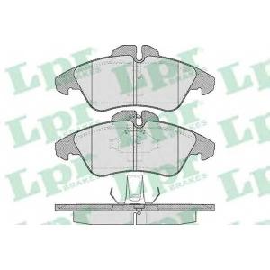 LPR 05P608 SF2767 Тормозные колодки