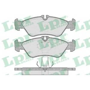 LPR 05P610 Тормозные колодки дисковые