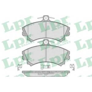 LPR 05P615 Тормозные колодки дисковые