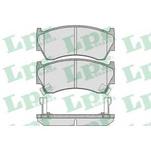 LPR 05P617 Тормозные колодки дисковые