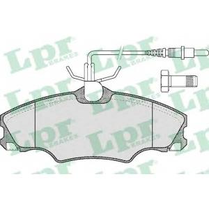 LPR 05P619 Тормозные колодки
