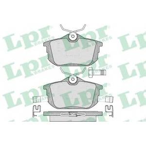 LPR 05P621 Тормозные колодки дисковые