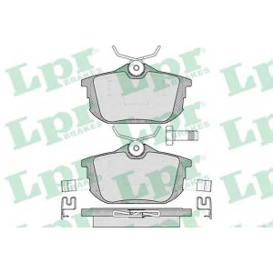 LPR 05P621 SF2880 Тормозные колодки