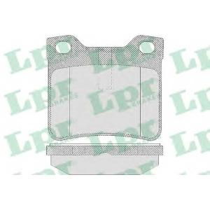 LPR 05P622 Тормозные колодки