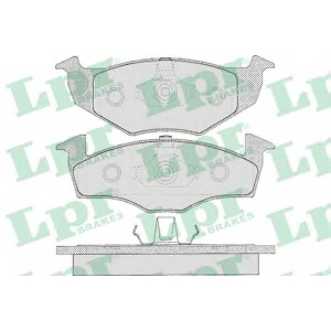 LPR 05P627 SF2758 Тормозные колодки