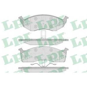 LPR 05P629 Тормозные колодки дисковые