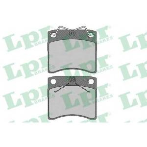LPR 05P631 Тормозные колодки дисковые