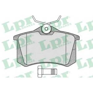 LPR 05P634 Тормозные колодки дисковые