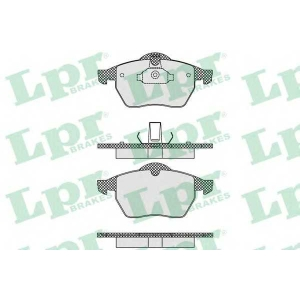 LPR 05P635 SF2820 Тормозные колодки