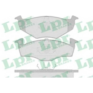 LPR 05P638 Тормозные колодки
