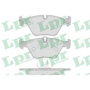 LPR 05P649 Тормозные колодки дисковые