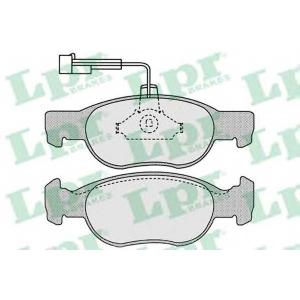 LPR 05P652 SF2752 Тормозные колодки