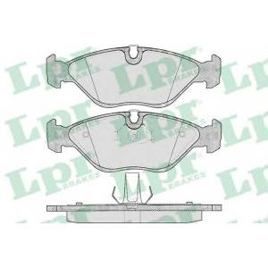 LPR 05P656 Тормозные колодки дисковые