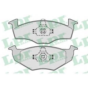 LPR 05P667 Тормозные колодки дисковые