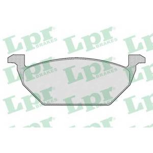 LPR 05P668 Тормозные колодки дисковые