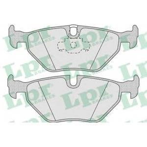 LPR 05P675 Тормозные колодки дисковые