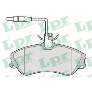 LPR 05P683 Тормозные колодки