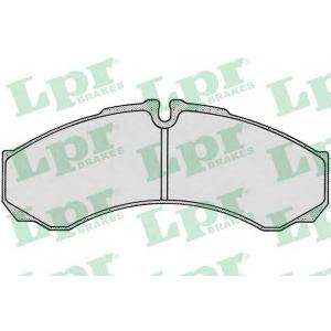 Комплект тормозных колодок, дисковый тормоз 05p684 lpr - IVECO DAILY II c бортовой платформой/ходовая часть c бортовой платформой/ходовая часть 30-8 (12910211, 12911111, 12911112, 12911117, 12911131...)