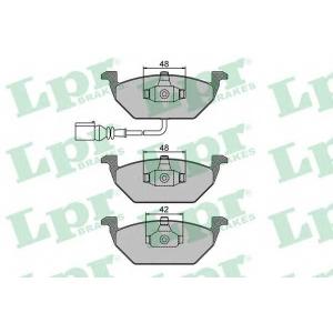 LPR 05P692 Тормозные колодки