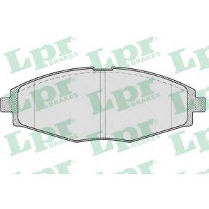 LPR 05P693 Тормозные колодки передние Lanos 1.5i, 99-