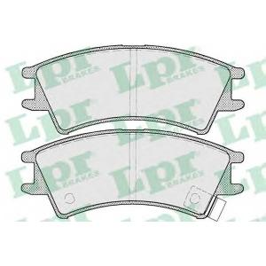 05p695 lpr Комплект тормозных колодок, дисковый тормоз